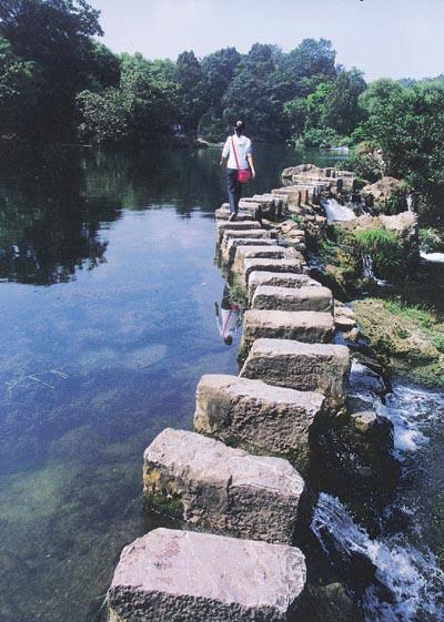 家乡的小石桥