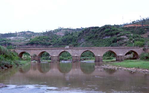 宜良普济桥和禄劝普济桥